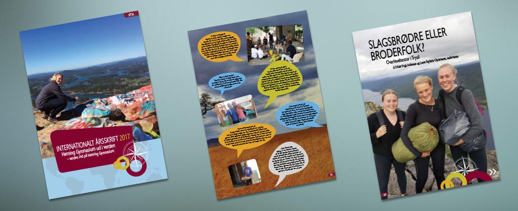 Læs vores nye internationale årsskrift